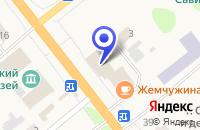 Схема проезда до компании НИЖЕГОРОДПРОМСТРОЙБАНК в Шатках