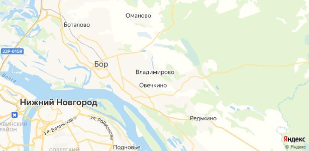 Владимирово на карте