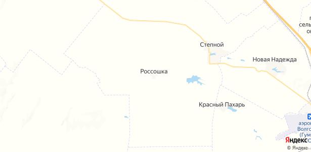 Россошка на карте