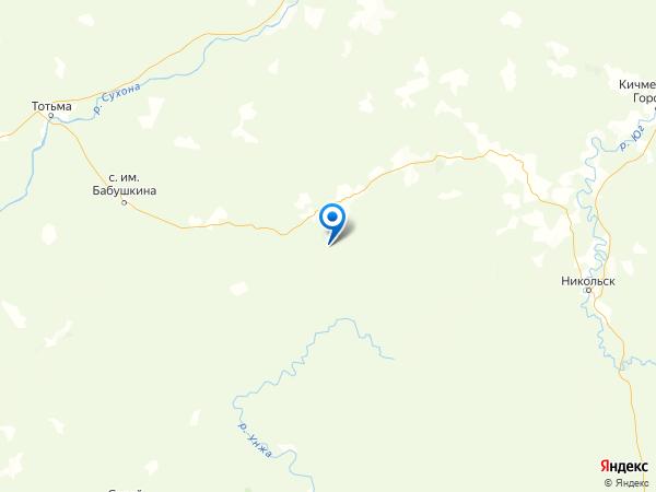 деревня Высокая на карте