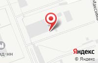 Схема проезда до компании Кстовское в Кстово