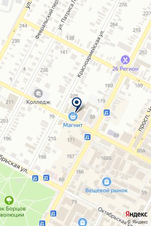 АПТЕКА № 207 на карте Буденновска