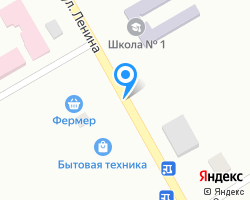Схема местоположения почтового отделения 363620
