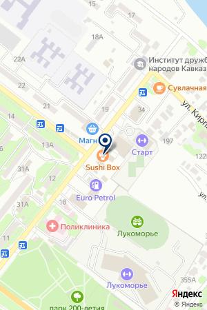 RED CAR на карте Буденновска