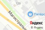 Схема проезда до компании Парикмахерская в Кстово