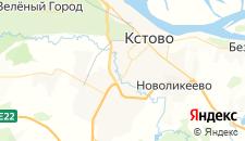 Отели города Кстово на карте