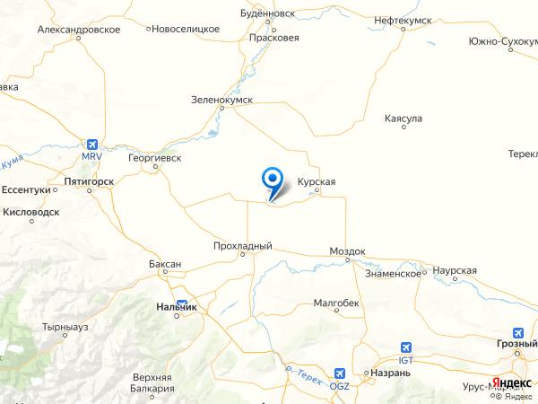 хутор Веденяпин на карте