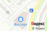 Схема проезда до компании Farmani в Кстово