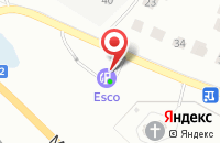 Схема проезда до компании АЗС №197 в Кстово