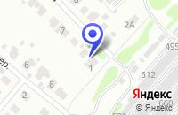 Схема проезда до компании ПТФ САБЫНИН Г. И. в Кстово