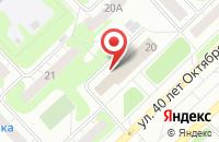 Схема проезда до компании Мобильная мастерская в Кстово