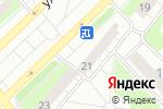 Схема проезда до компании Добрый свет в Кстово