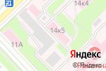Схема проезда до компании Кстовская центральная районная больница в Кстово
