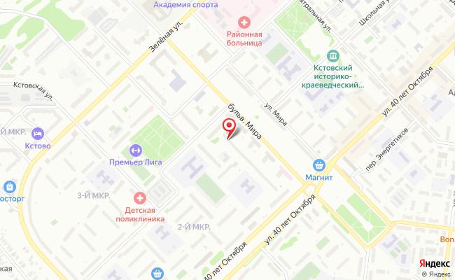 Карта расположения пункта доставки RoutExpress в городе Кстово