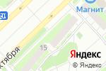 Схема проезда до компании А5 в Кстово