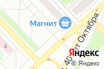 Схема проезда до компании Московский трикотаж в Кстово
