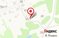 Схема проезда до компании Лесные Технологии в Кольцово