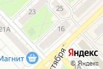 Схема проезда до компании Церковная лавка в Кстово