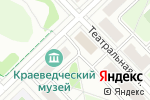 Схема проезда до компании Адвокатская контора Кстовского района в Кстово
