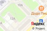 Схема проезда до компании Браво в Кстово