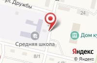 Схема проезда до компании Наримановская средняя общеобразовательная школа в Наримане