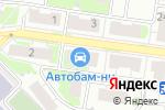 Схема проезда до компании БАРС-НН в Кстово