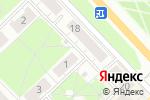 Схема проезда до компании Тема в Кстово