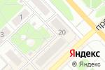 Схема проезда до компании Mediaboard в Кстово