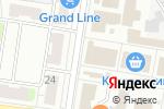 Схема проезда до компании Обувной мир в Кстово