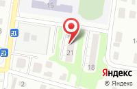 Схема проезда до компании Македония в Кстово