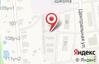 Схема проезда до компании Комфорт в Редькино