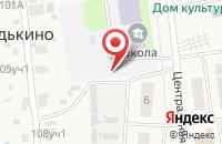 Схема проезда до компании Волго-Вятский банк Сбербанка России в Редькино