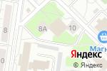 Схема проезда до компании Управление строительства в Кстово