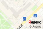 Схема проезда до компании Мегафон в Кстово