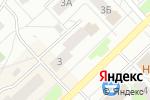 Схема проезда до компании Ателье в Кстово