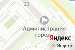 Схема проезда до компании Управление жилищными отношениями в Кстово