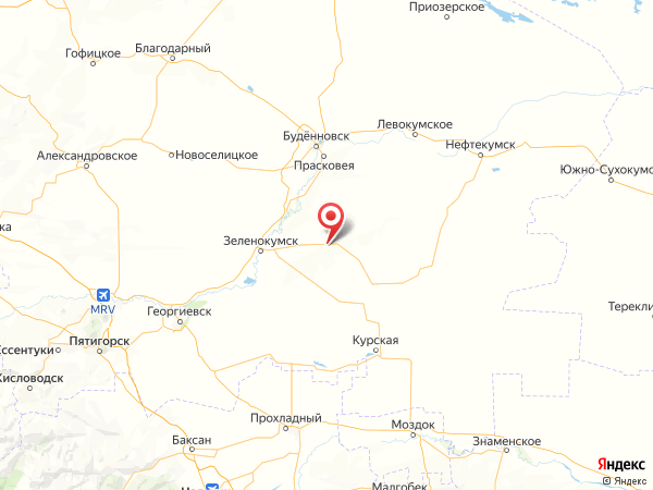 хутор Чарыков на карте