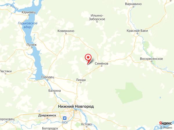 деревня Плюхино на карте