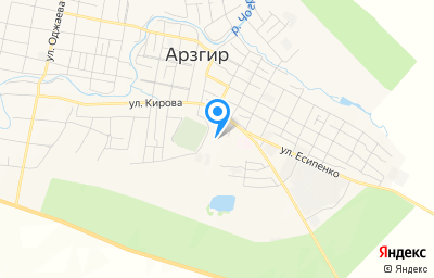 Местоположение на карте пункта техосмотра по адресу Ставропольский край, с Арзгир, ул Кирова, д 13