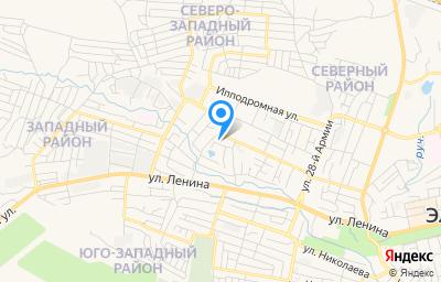Местоположение на карте пункта техосмотра по адресу г Элиста, ул Хомутникова, влд 127