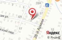 Схема проезда до компании 999 в Мирном