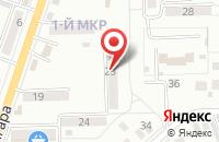 Схема проезда до компании Kaleva в Московском