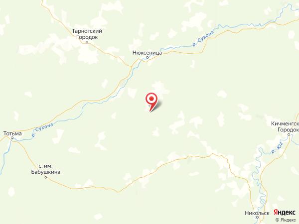 деревня Большие Мысы на карте