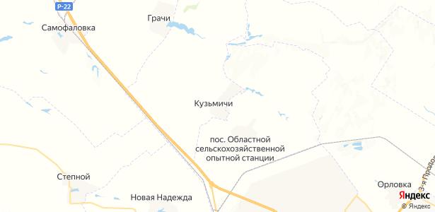 Кузьмичи на карте