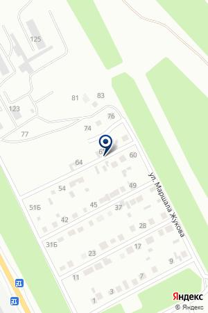 ОХРАННОЕ АГЕНТСТВО СПАС на карте Волгограда