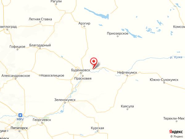 село Красный Октябрь на карте