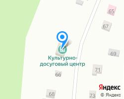 Схема местоположения почтового отделения 431435