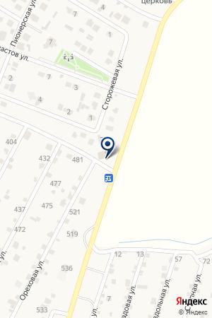 Дачный на карте Волгограда