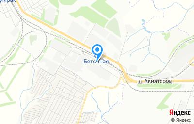 Местоположение на карте пункта техосмотра по адресу г Волгоград, тер Рабочий поселок Гумрак, ул Моторная, д 34