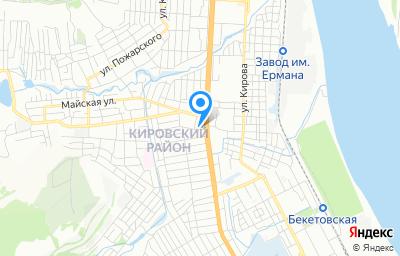 Местоположение на карте пункта техосмотра по адресу г Волгоград, ул Лимоновая, д 45Б
